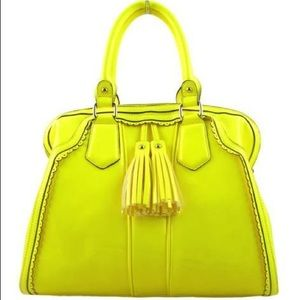 Delia neon Melie Bianco yellow with tassels